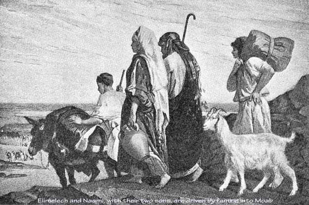 Afbeeldingsresultaat voor naomi naar moab